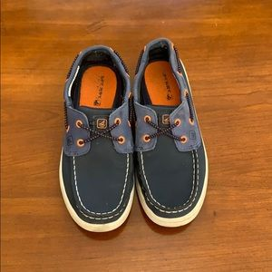 Sperry Navy/Orange Size 13.5 Boys